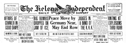 Independent Helena Montana newspaper archives