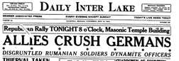 Daily Inter Lake newspaper archives