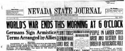 Nevada State Journal newspaper archives
