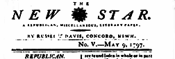 Concord New Star newspaper archives