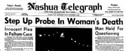 Nashua Telegraph newspaper archives