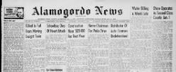 Alamogordo News newspaper archives