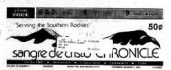 Sangre De Cristo Chronicle newspaper archives