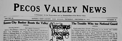 Artesia Pecos Valley News newspaper archives