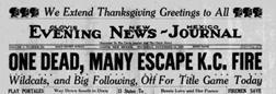 Clovis Evening News Journal newspaper archives