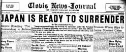 Clovis News Journal newspaper archives
