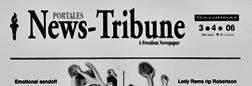 Clovis News Tribune newspaper archives