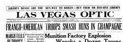 Las Vegas Optic East Las Vegas New Mexico newspaper archives