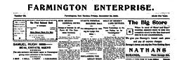 Farmington Enterprise newspaper archives
