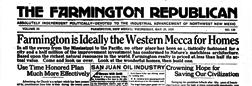 Farmington Republican newspaper archives