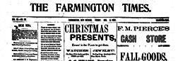 Farmington Times newspaper archives
