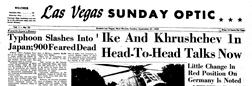 Las Vegas Optic Greater Las Vegas New Mexico newspaper archives