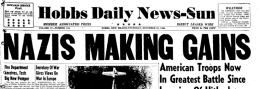 Hobbs Daily News Sun newspaper archives