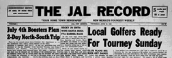 Jal Record newspaper archives