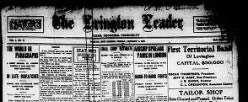Lovington Leader newspaper archives