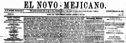 El Novo Mejicano newspaper archives