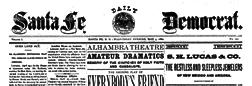 Santa Fe Daily Democrat newspaper archives
