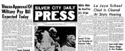Silver City Daily Press newspaper archives