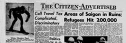 Auburn Citizen newspaper archives