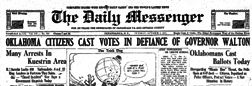 Canandaigua Daily Messenger newspaper archives