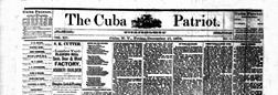 Cuba Patriot newspaper archives