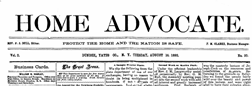 Home Advocate newspaper archives