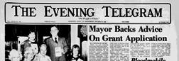 Herkimer Evening Telegram newspaper archives