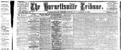 Hornellsville Weekly Tribune newspaper archives