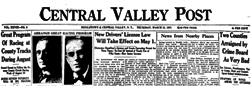 Central Valley Post newspaper archives