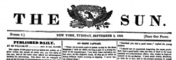 New York Sun newspaper archives