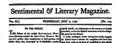 New York Weekly Magazine newspaper archives