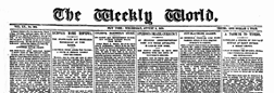 Weekly World newspaper archives
