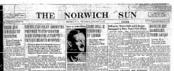 Norwich Sun newspaper archives