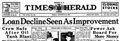 Times Evening Herald newspaper archives