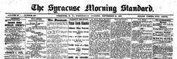 Syracuse Standard newspaper archives