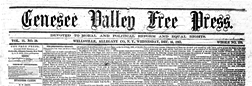 Wellsville Genesee Valley Free Press newspaper archives