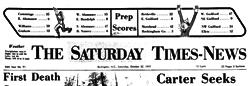 Burlington Saturday Times News newspaper archives