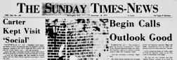 Burlington Sunday Times News newspaper archives