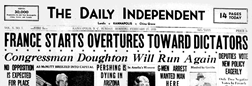 Kannapolis Daily Independent newspaper archives