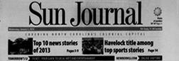 New Bern Sun Journal newspaper archives