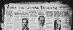 Evening Telegram newspaper archives