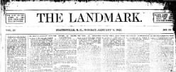 Statesville Record And Landmark newspaper archives