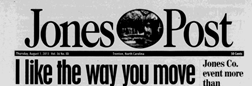 Trenton Jones Post newspaper archives