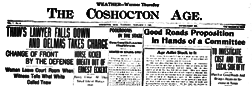 Coshocton Age newspaper archives