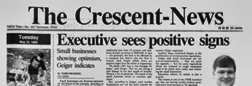 Defiance Crescent News newspaper archives