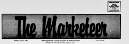Defiance Marketeer newspaper archives