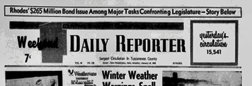 Dover Weekend Daily Reporter newspaper archives