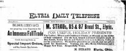 Elyria Daily Telephone newspaper archives