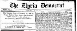 Elyria Democrat newspaper archives