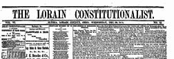 Elyria Lorain Constitutionalist newspaper archives